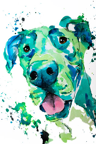 Green Color Paintings